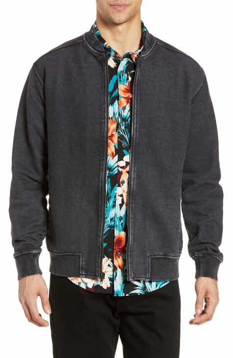 d1d8704b87b RVCA Ellsworth Knit Bomber Jacket