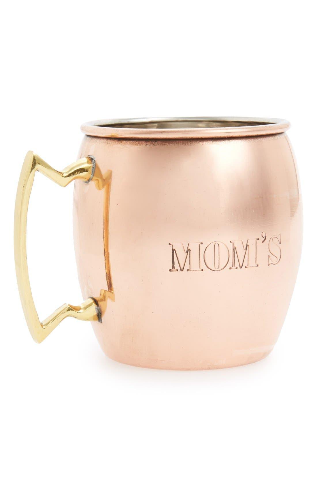 Alternate Image 1 Selected - MG Décor 'Mom's' Copper Mug
