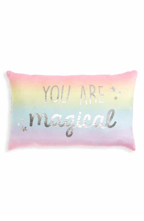 Capelli New York You Are Magical Reversible Flip Sequin Pillow 5a6fdcab74