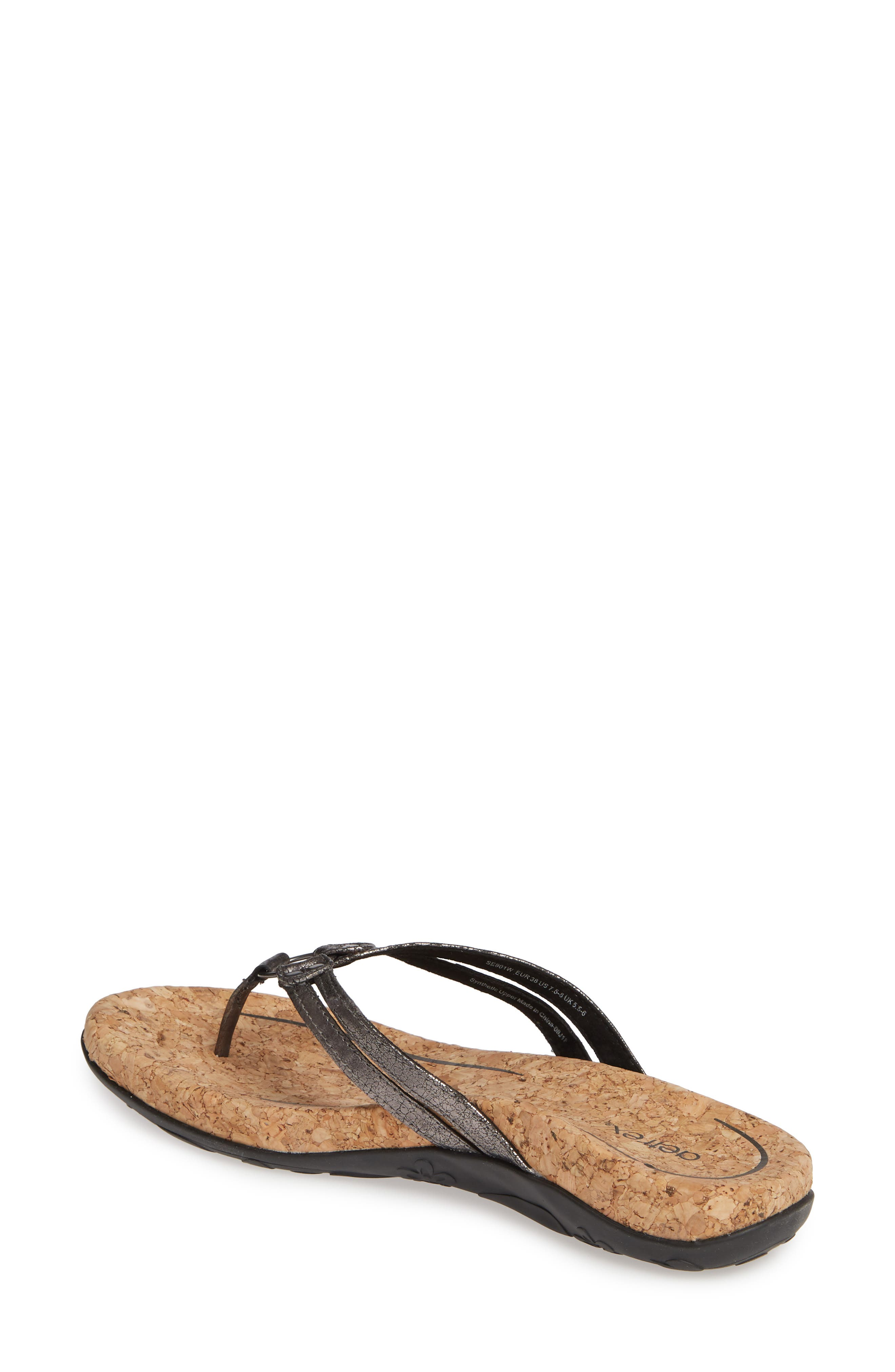 505b3fae21f9f4 Aetrex Flip-Flops   Sandals for Women