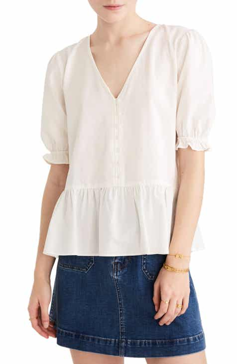 49940bffba Madewell Women s Shirts   Blouses Clothing   Accessories