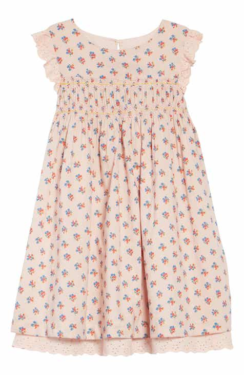f951a3d7c660 Mini Boden Nostalgic Smocked Dress (Toddler Girls