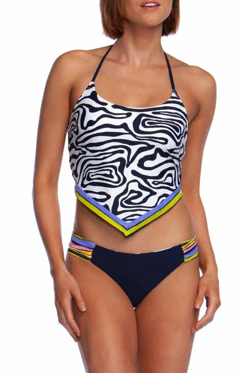 The Bikini Lab Sonic Boom Hipster Bikini Bottoms by THE BIKINI LAB