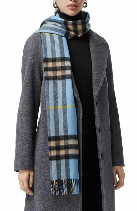 550b42d590afe Burberry Giant Check Cashmere Scarf