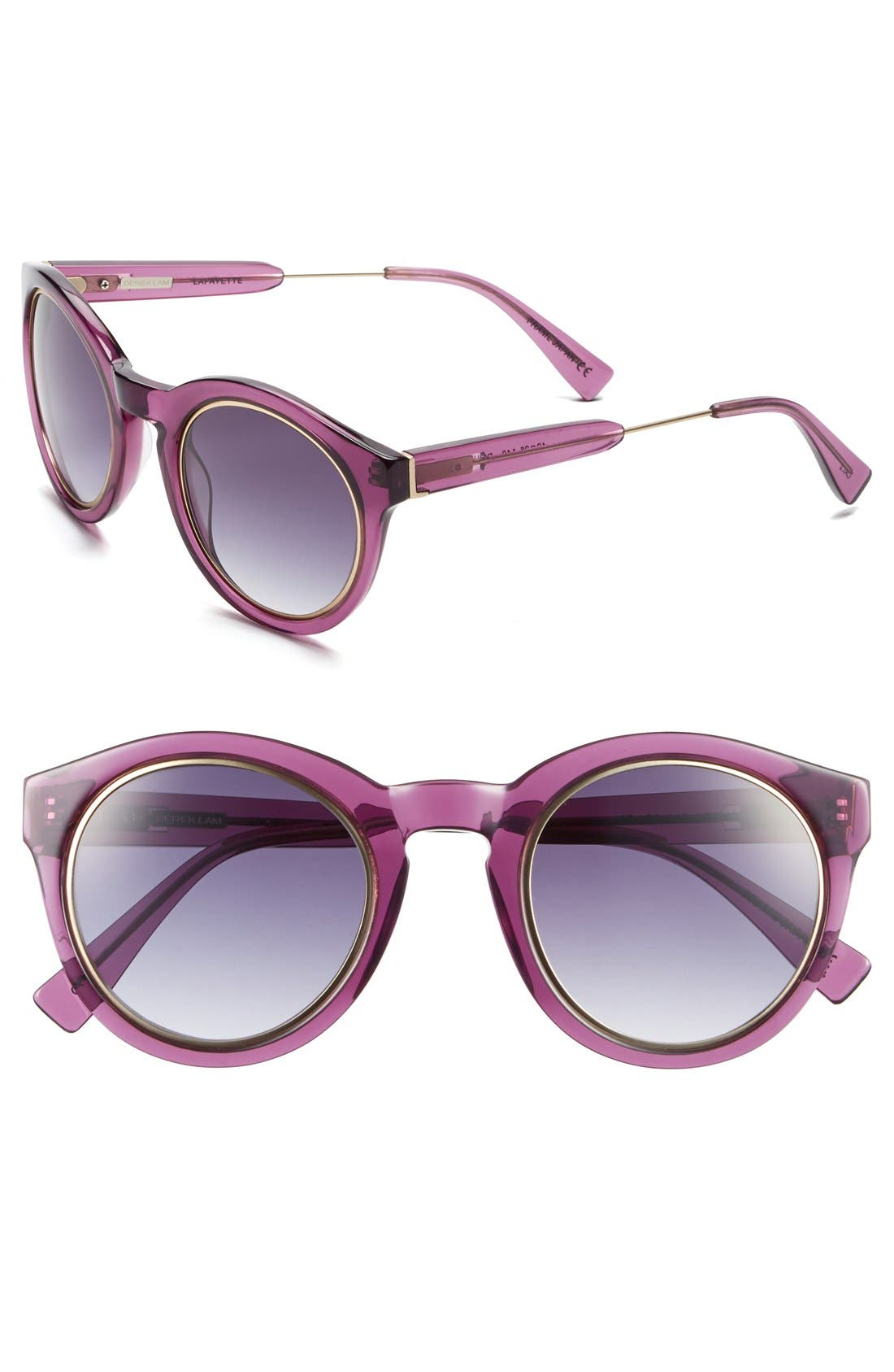 Alternate Image 1 Selected - Derek Lam 'Lafayette' 49mm Sunglasses