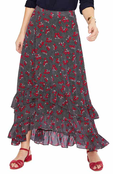 Leith Smocked Skirt by LEITH