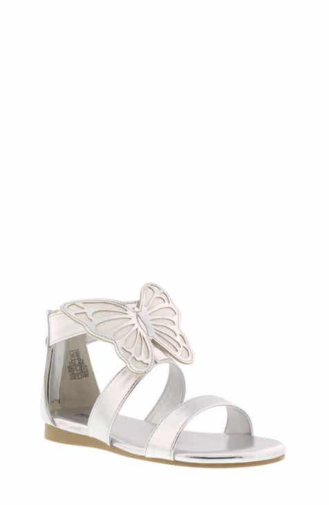 f7069b16a0c3 MICHAEL Michael Kors Tilly Glitter Butterfly Skim Sandal (Walker