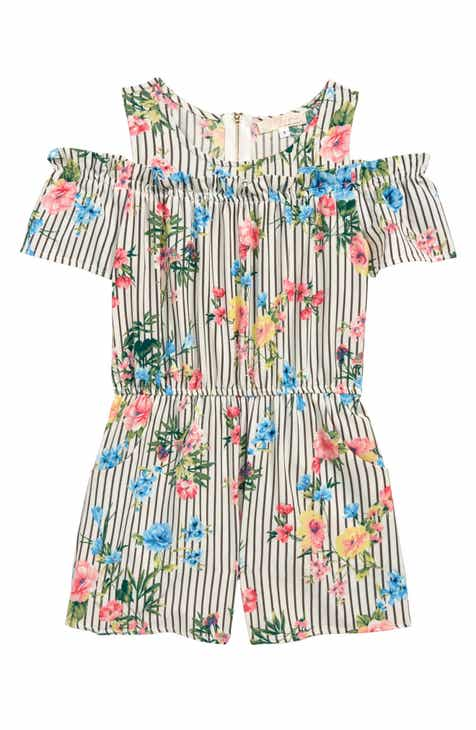 a466e368357 Truly Me Stripe Romper (Toddler Girls   Little Girls)