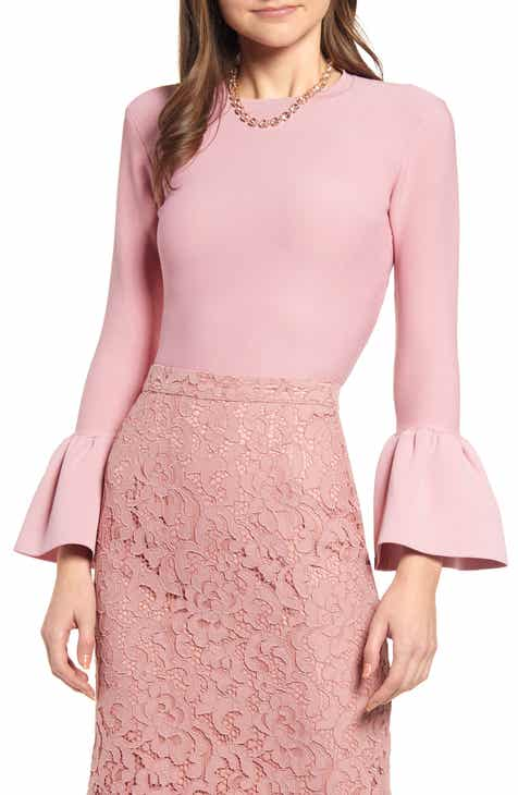 Rachel Parcell Bell Sleeve Sweater (Nordstrom Exclusive) by RACHEL PARCELL
