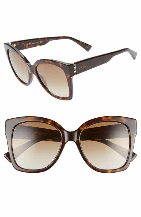 c553e27f019 Gucci 54mm Square Sunglasses