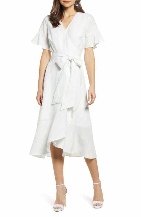bafd4c3dcfc Rachel Parcell Ruffle Wrap Dress (Nordstrom Exclusive)