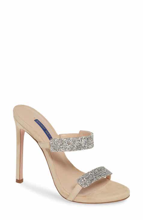 638b7c9ff24 Stuart Weitzman Razzle 75 Embellished Slip-On Sandal (Women)