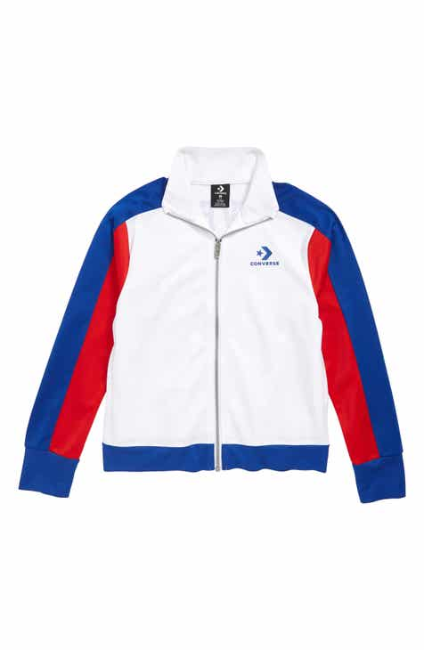 5693e7dbef7b Converse Colorblock Logo Warm-Up Jacket (Big Girls)