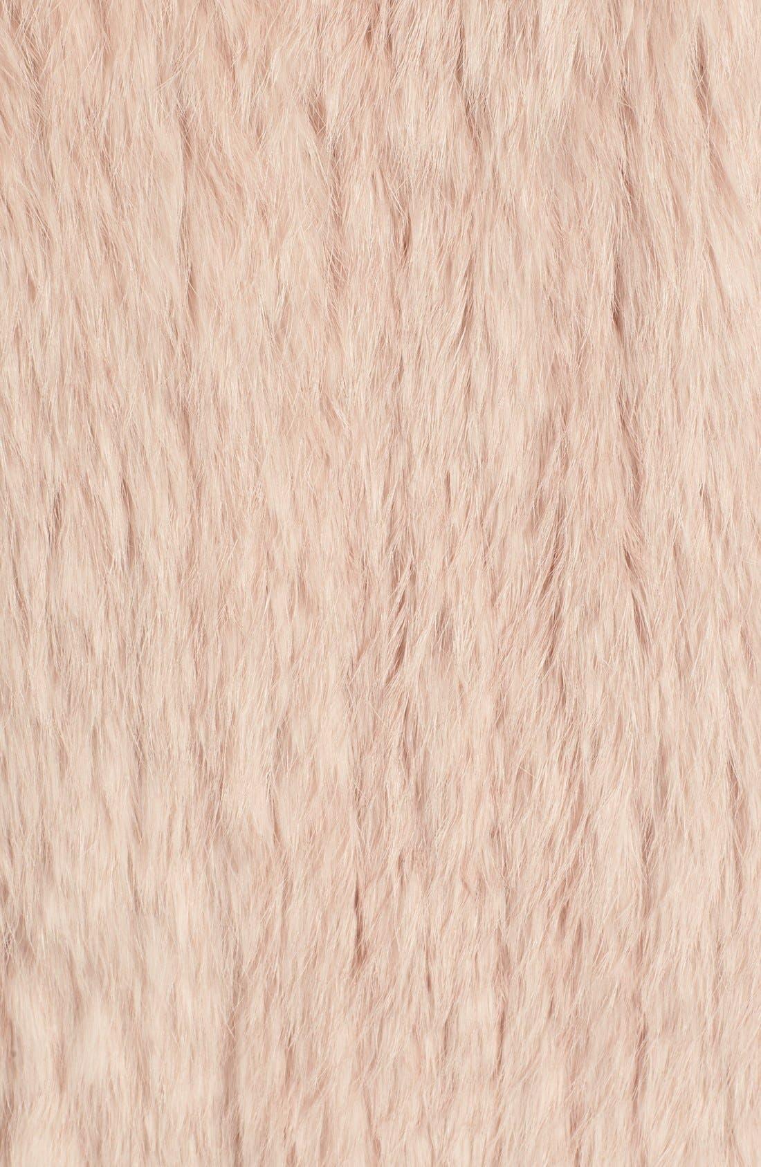 Alternate Image 3  - Joie 'Amery' Genuine Rabbit Fur Vest