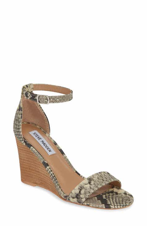 d65913167776 Steve Madden Mary Ankle Strap Wedge (Women)