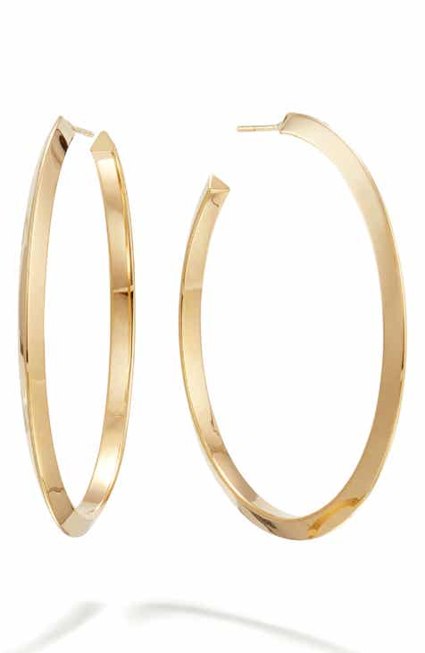 b14539d36b91 Lana Jewelry Casino Hollow Hoop Earrings