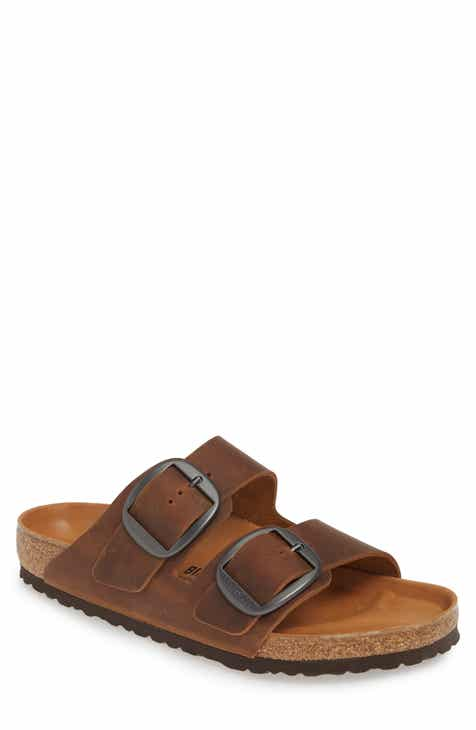 c65cc76ea62 Birkenstock Arizona Big Buckle Slide Sandal (Men)