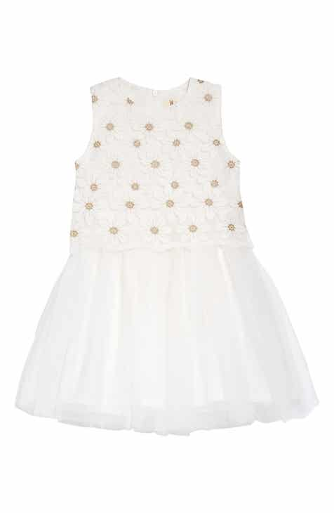 081a155dc2b Doe A Dear Daisy Lace Overlay Dress (Toddler Girls   Little Girl)