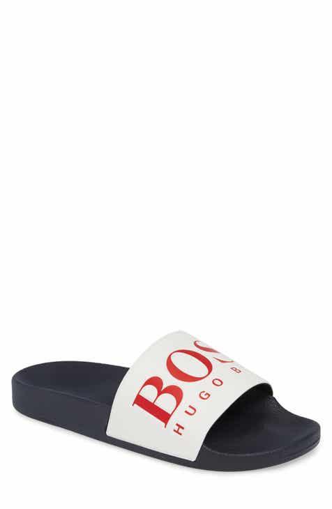 83d346286a7 BOSS Solar Slide Sandal (Men)
