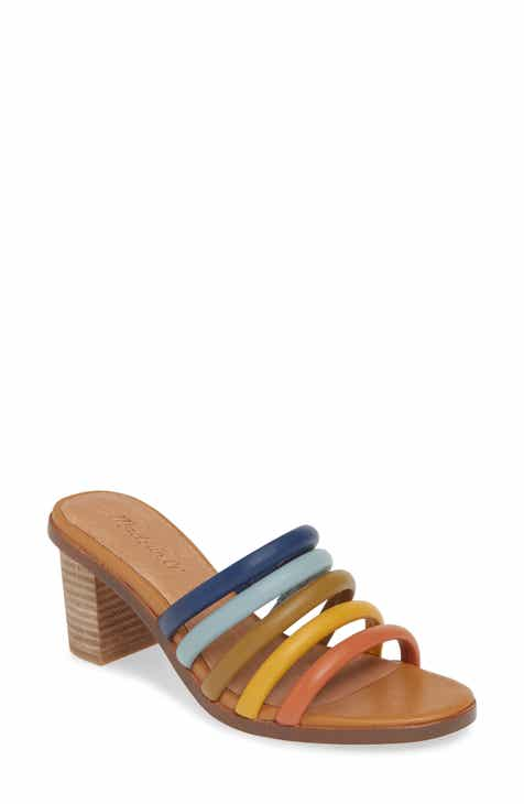 6e0c11f0aa71 Madewell The Addie High Heel Mule