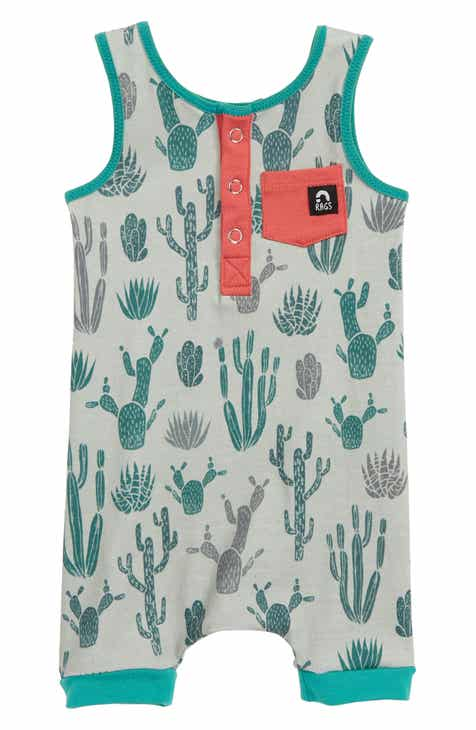 01d11492ccd9c7 RAGS Cactus Henley Tank Romper (Baby   Toddler)