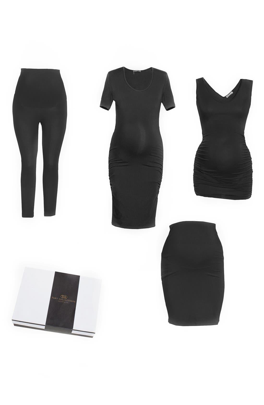 Essentials Four-Piece Starter Kit,                         Main,                         color, Black
