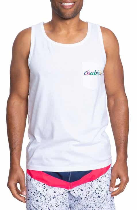 0988093180d48 Chubbies Vacation Club Graphic Pocket Tank