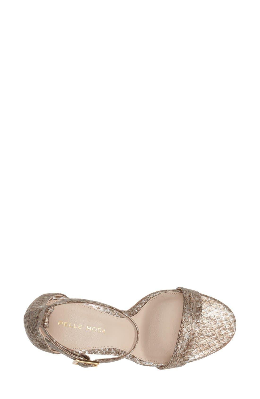 Alternate Image 5  - Pelle Moda 'Kacey' Sandal