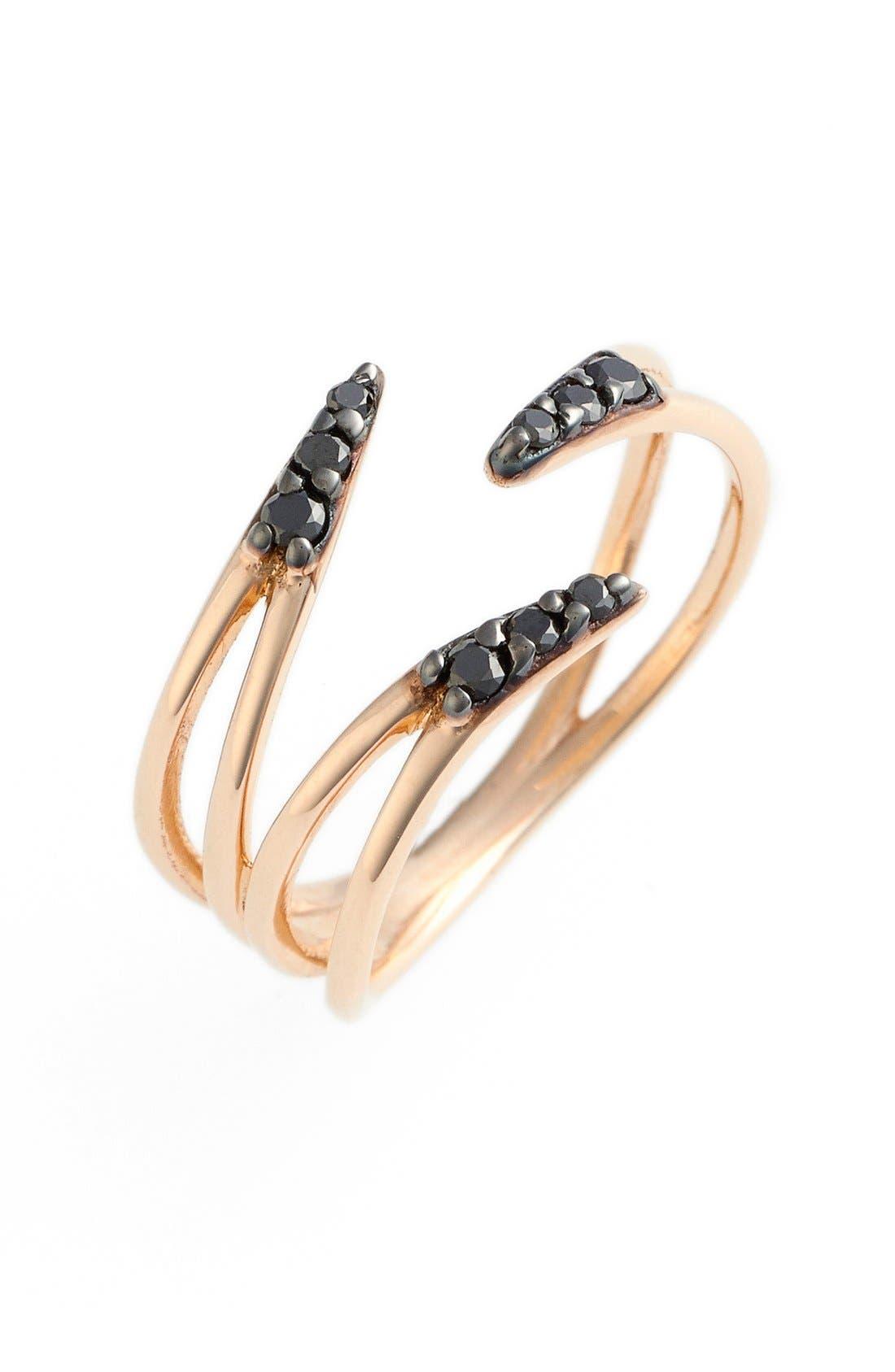 Main Image - kismet by milka 'Lumiere' Diamond Pinky Ring