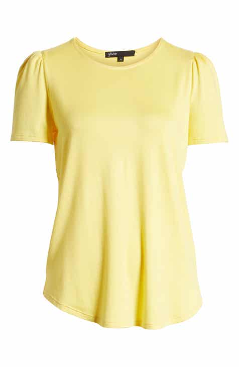 cb636d404731d Gibson x Living in Yellow Puff Shoulder Tee (Regular   Petite) (Nordstrom  Exclusive)