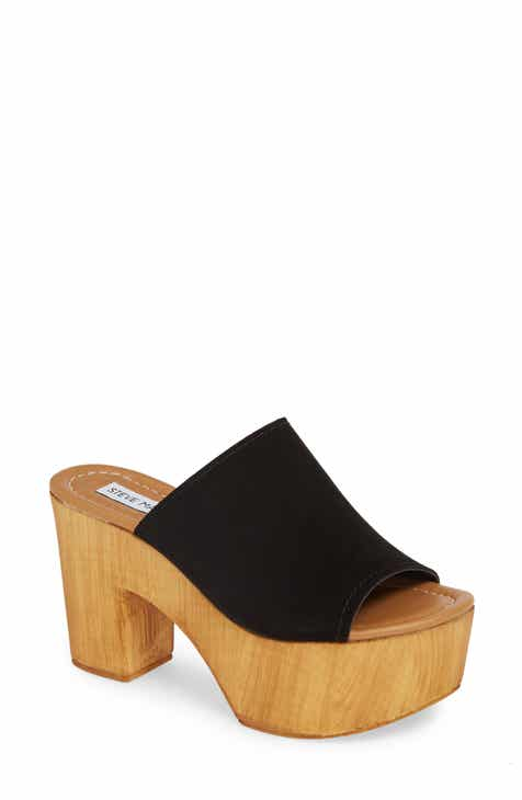 29180141aa8 Steve Madden Playdate Platform Slide Sandal (Women)