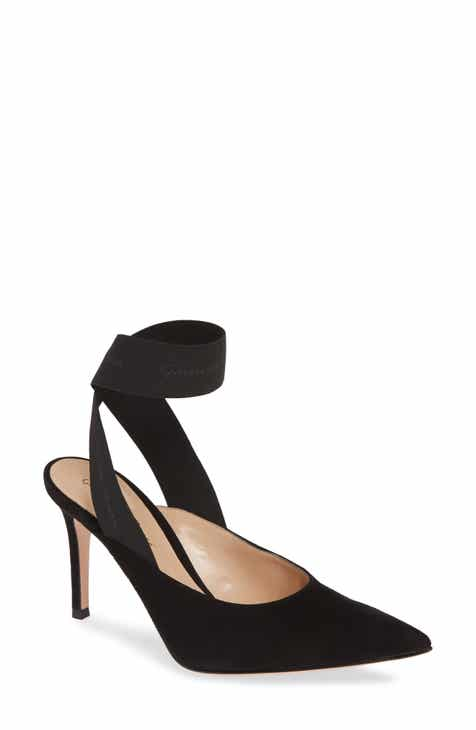 1da86c683f6 Gianvito Rossi Ankle Wrap Pointy Toe Pump (Women)