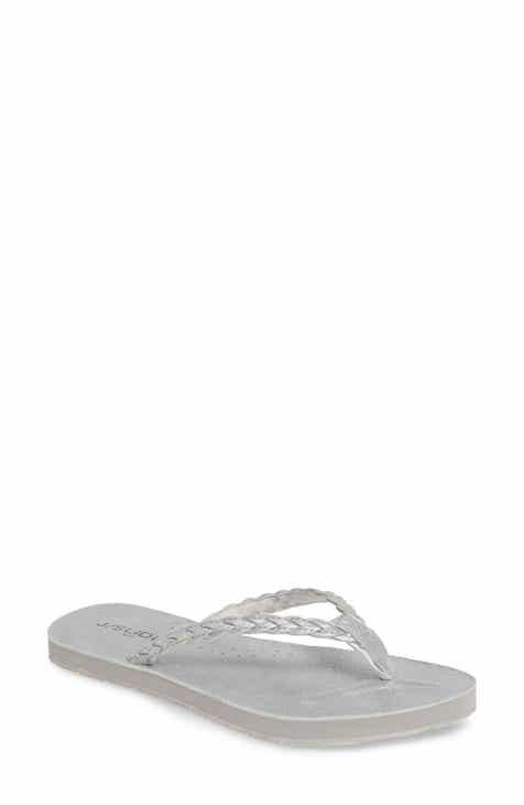 9dd248dec64e Metallic Flip-Flops   Sandals for Women