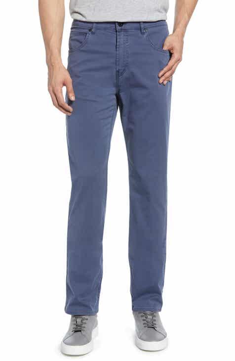 864fc3fd2405 Bugatchi Slim Straight Leg Five-Pocket Pants