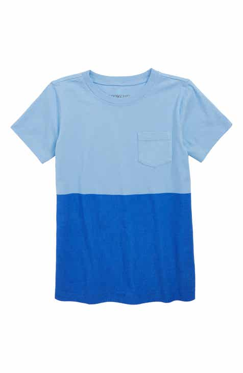 6766d86bc430 crewcuts by J.Crew Double Dip Pocket T-Shirt (Toddler Boys