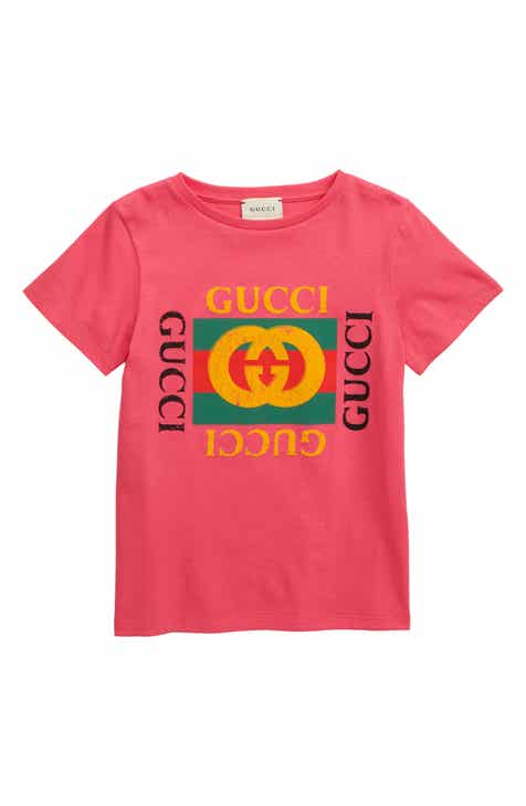 04e4b19d4 Gucci Logo Graphic T-Shirt (Little Boys & Big Boys)