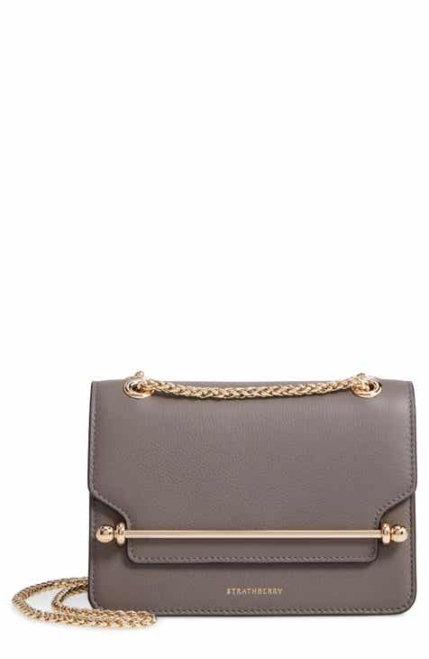 Strathberry Mini East West Leather Crossbody Bag