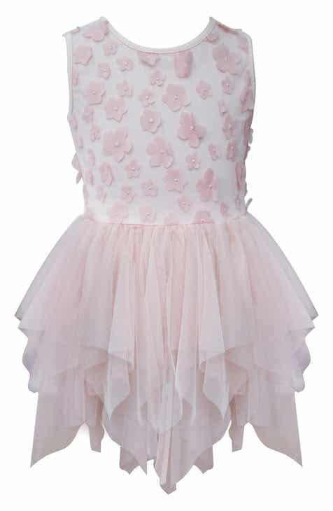29c46025018f Popatu Floral Tiered Tulle Dress (Toddler Girls, Little Girls & Big Girls)