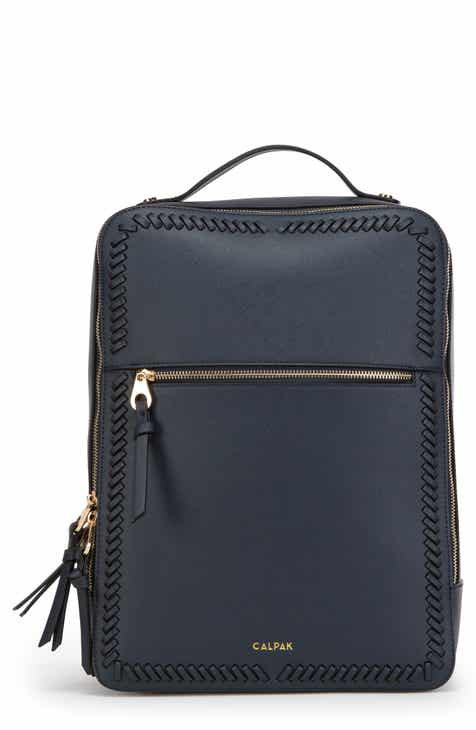 fe0f30af8fb Calpak Kaya Faux Leather Laptop Backpack
