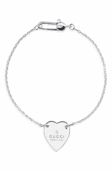 75962932b Gucci Trademark Heart Chain Bracelet