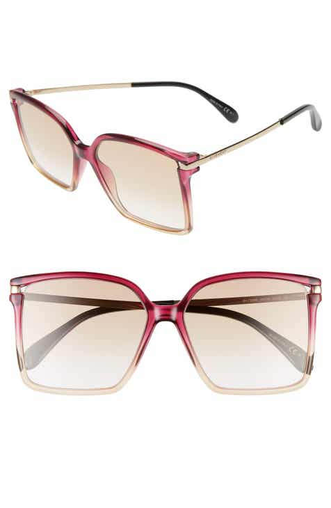 2b23cf5e7e8c7 Givenchy 57mm Square Sunglasses