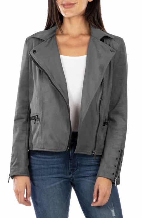 c8e6f3a4ee9 KUT From the Kloth Faux Suede Eveline Jacket