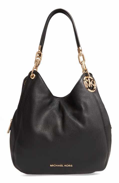 edcb5ae1c331 MICHAEL Michael Kors Lillie Large Leather Shoulder Bag