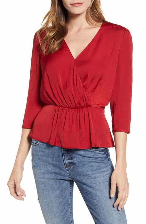 9fa12f83abd6 Women's 3/4 Sleeve Tops | Nordstrom