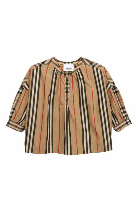 b7cf0230803 Burberry Lola Icon Check Top (Toddler Girls