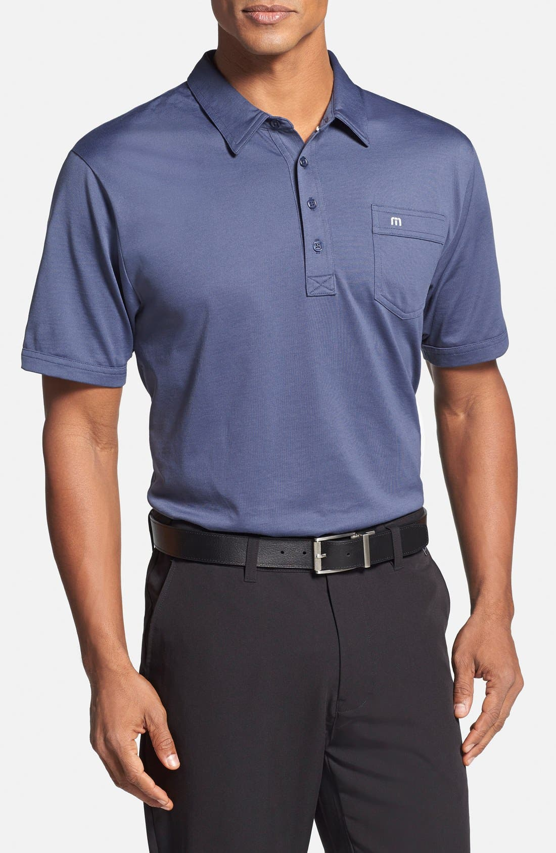 Main Image - Travis Mathew 'OG' Trim Fit Performance Golf Polo