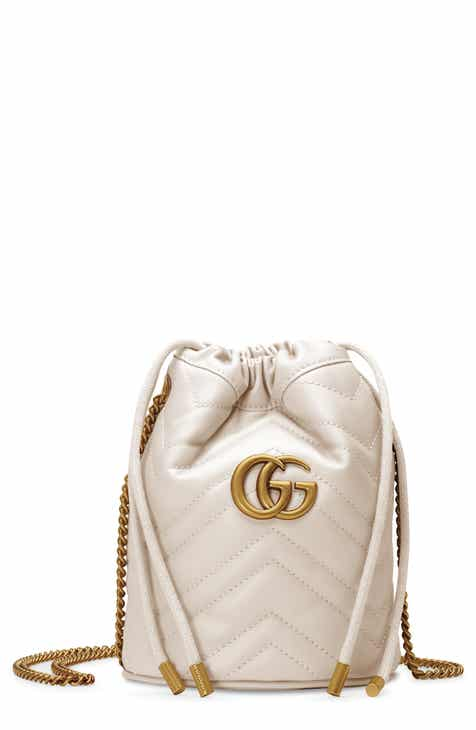 4f15505d9e0dcf Gucci Mini GG Marmont 2.0 Quilted Leather Bucket Bag