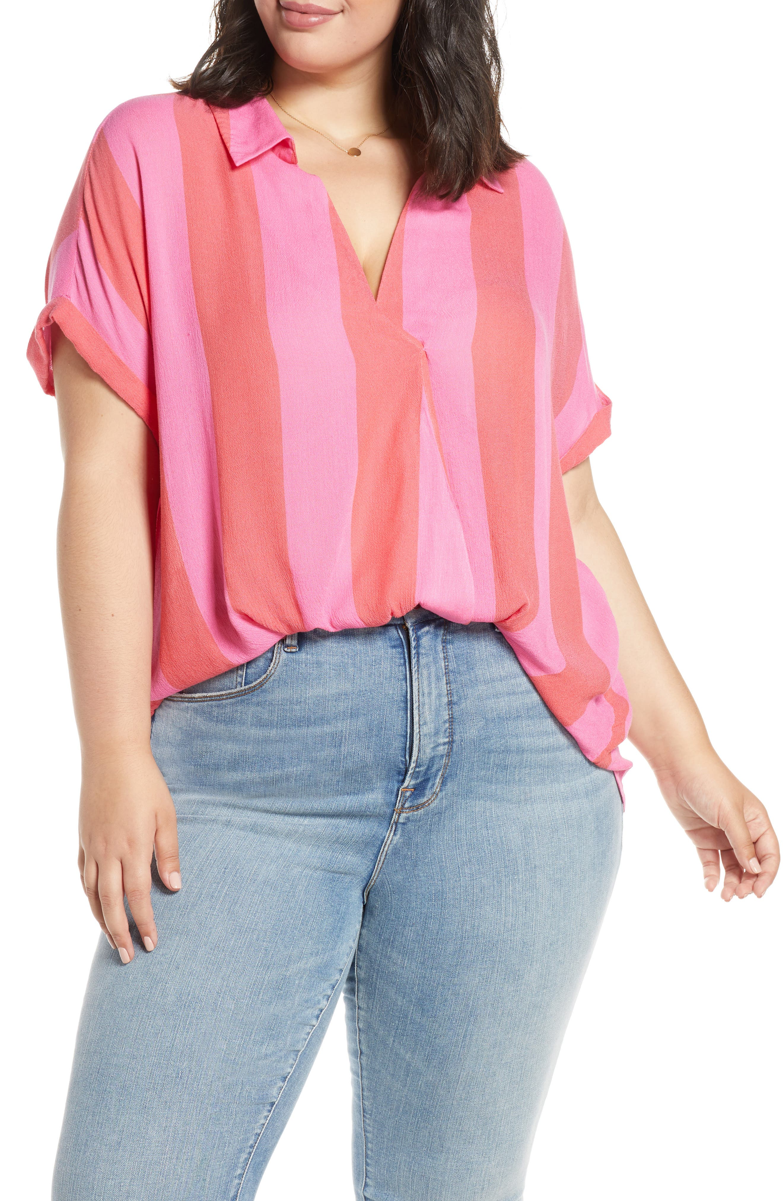 e059f38a7cee4c Women's Plus-Size Tops | Nordstrom