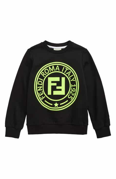 a289a4dc282 Fendi Logo Sweatshirt (Little Boys & Big Boys)