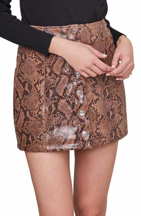 ASTR the Label Come Slither Miniskirt